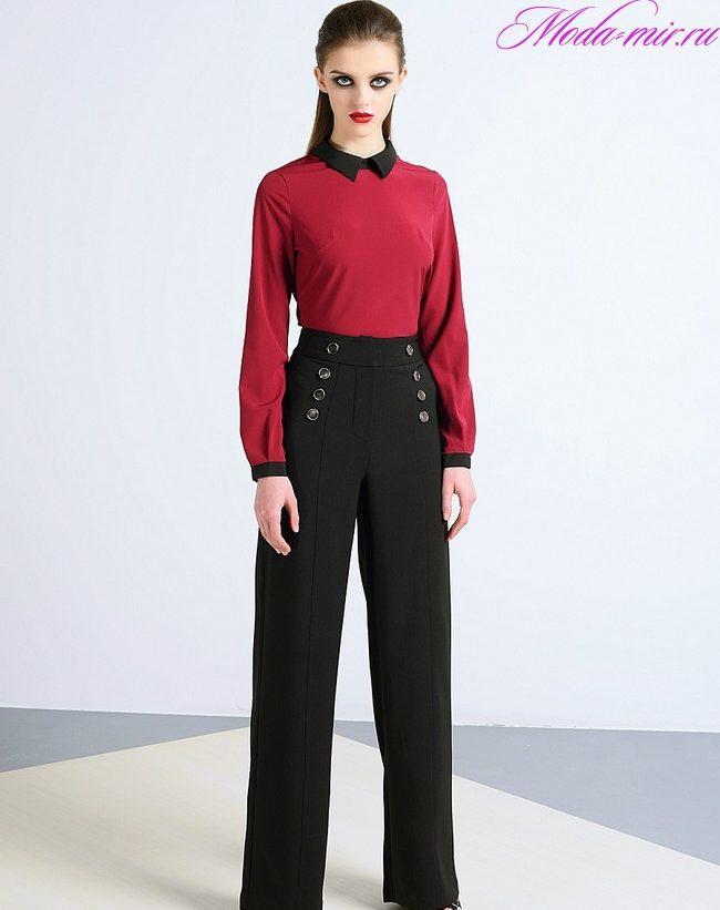 Женские брюки весна лето 2018 модные тенденции