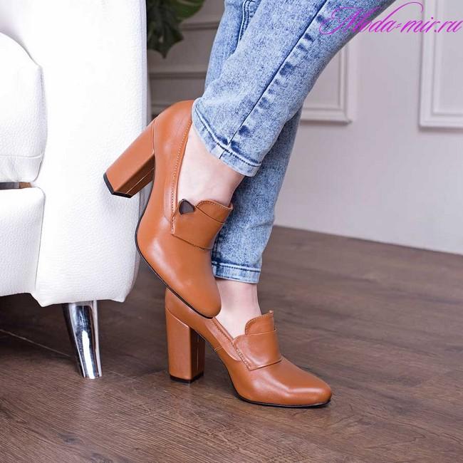 Женские туфли весна лето 2018 модные тенденции