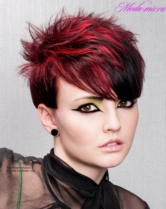 Покраска волос 2018 на короткие волосы