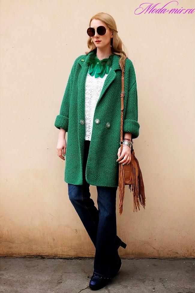 Vyazanaya moda dlya palto 2017-2018 trendyi