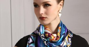 Модные шарфы весна 2018