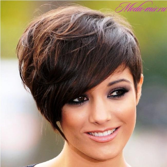 Окрашивание на короткие волосы 2018 женские