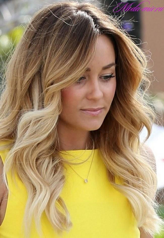 Окрашивание на длинные волосы 2018 женские