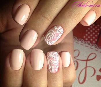Дизайн натуральных ногтей: фото декора и украшений для 70
