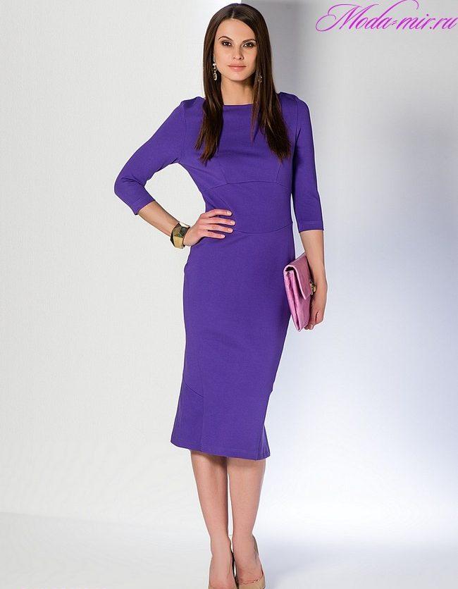 Красивые офисные платья 2018