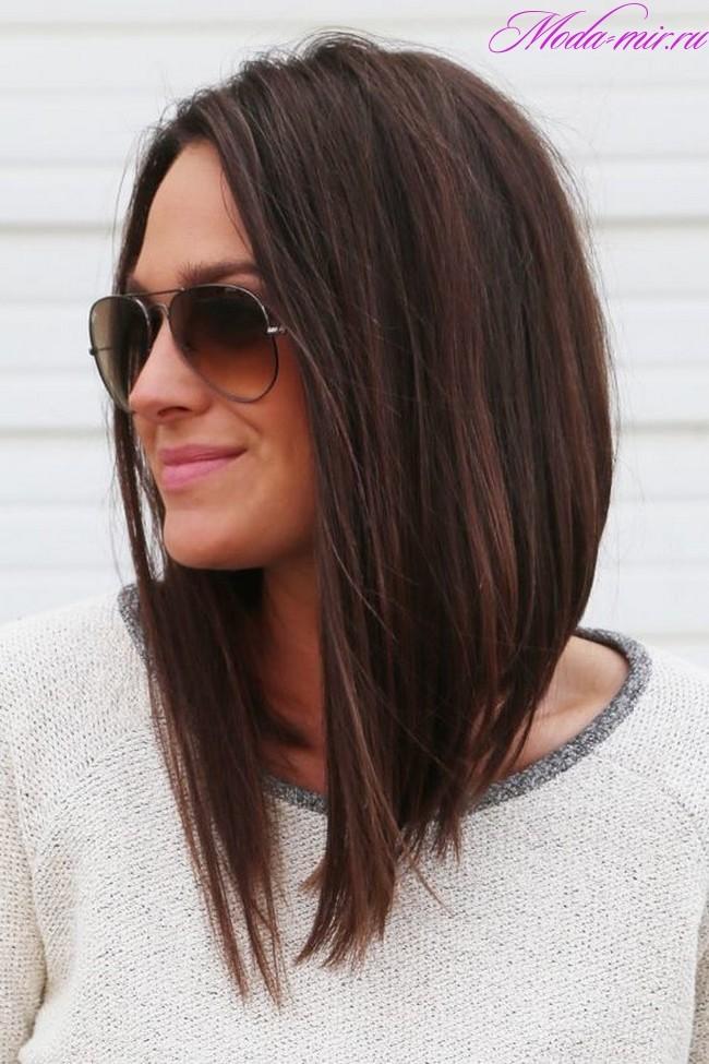 Стрижки на длинные волосы 2018 женские без челки