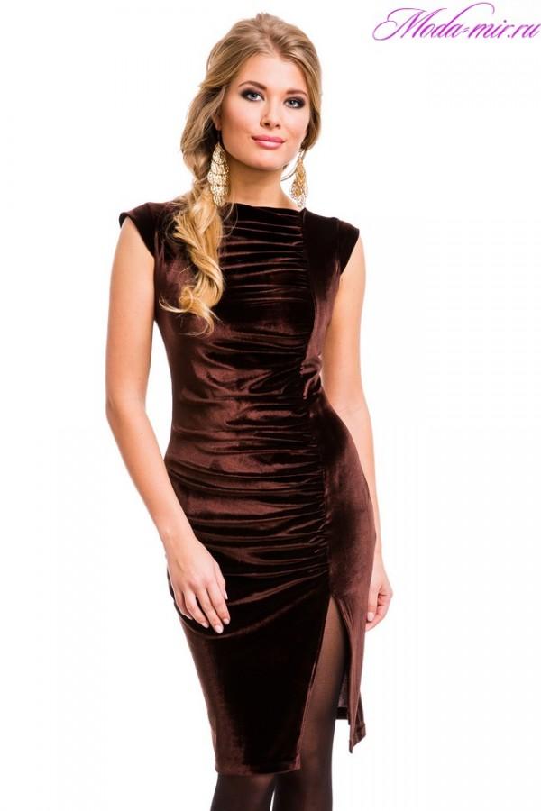 813c2f86e1d Платье из бархата 2018 года модные новинки и популярные фасоны ...