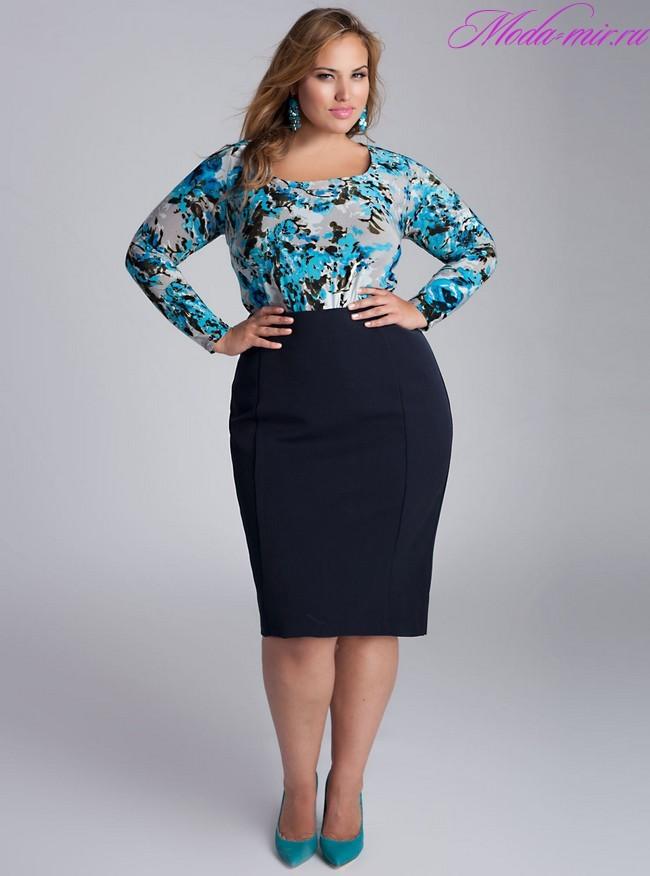 Мода весна лето 2018 основные тенденции для полных