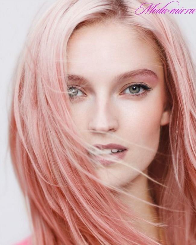 Какой цвет волос в тренде 2018