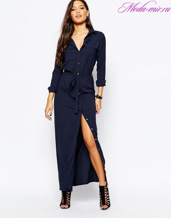 Платье рубашка 2018 год