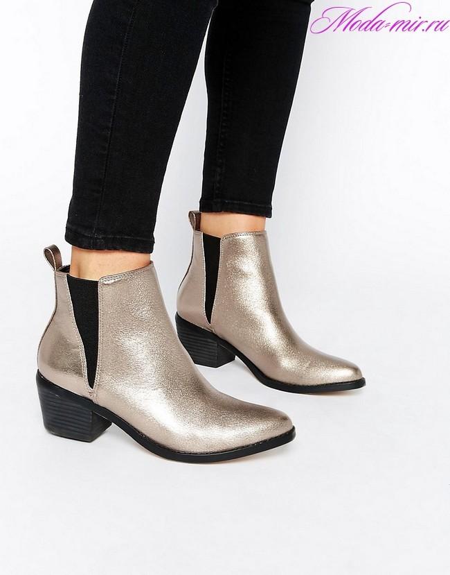 Сапоги ботинки осень зима 2018 фото новинки