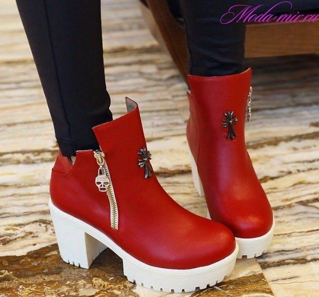 Какие ботинки в моде осенью 2018?