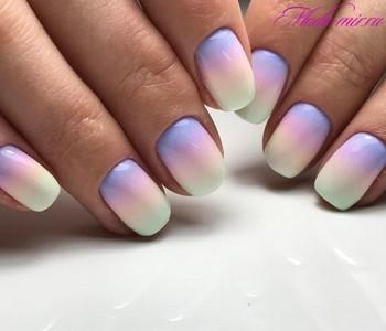 Летний маникюр 2018 на короткие ногти фото