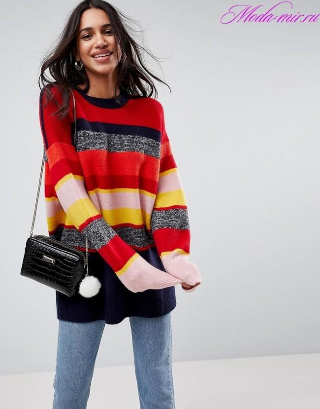 Свитера 2018 года модные тенденции фото
