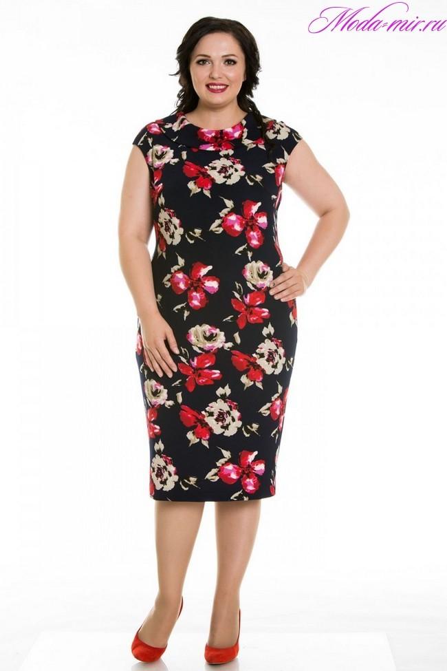 Модные платья 2018 фото новинки для женщин 50 лет