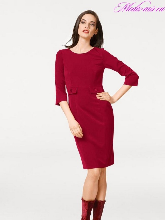 c78f26a22f6 Модные вязаные платья 2018 фото новинки для женщин 40 лет