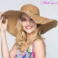 Модные пляжные шляпы 2018