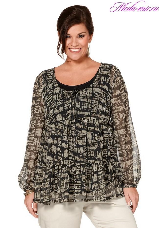 Модные блузки для женщин 2018
