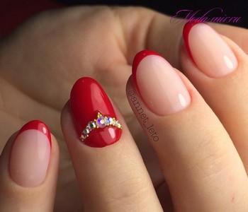 Ногти френч 2018 модные идеи что актуально женщине за 50