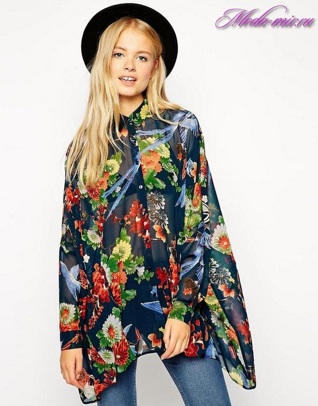Летние блузки 2018 года модные тенденции фото