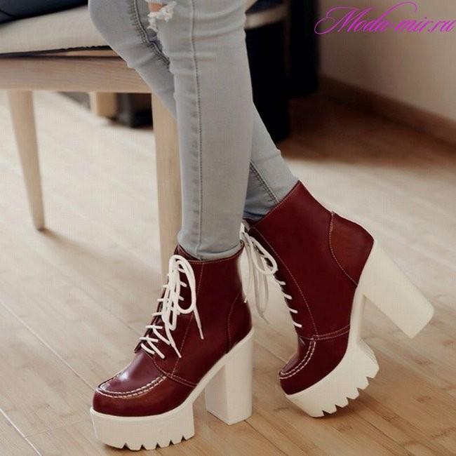 Модные тенденции обуви осень зима 2018 2019