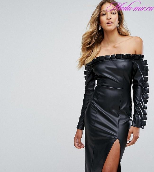 Модные платья осень зима 2018 2019