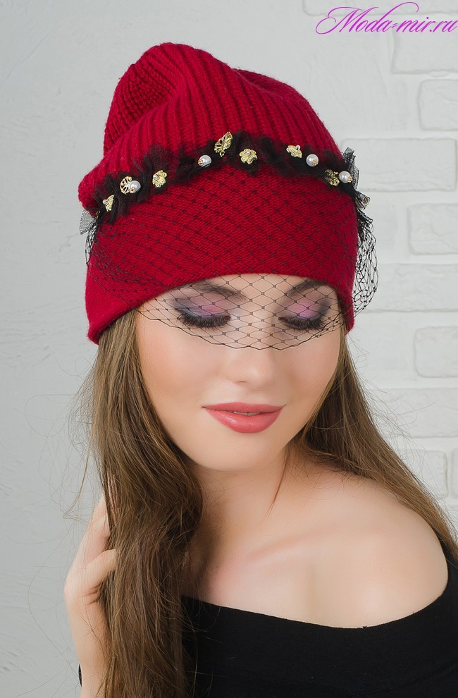 Модные вязаные шапки осень зима 2018 2019 фото для женщин 50 лет