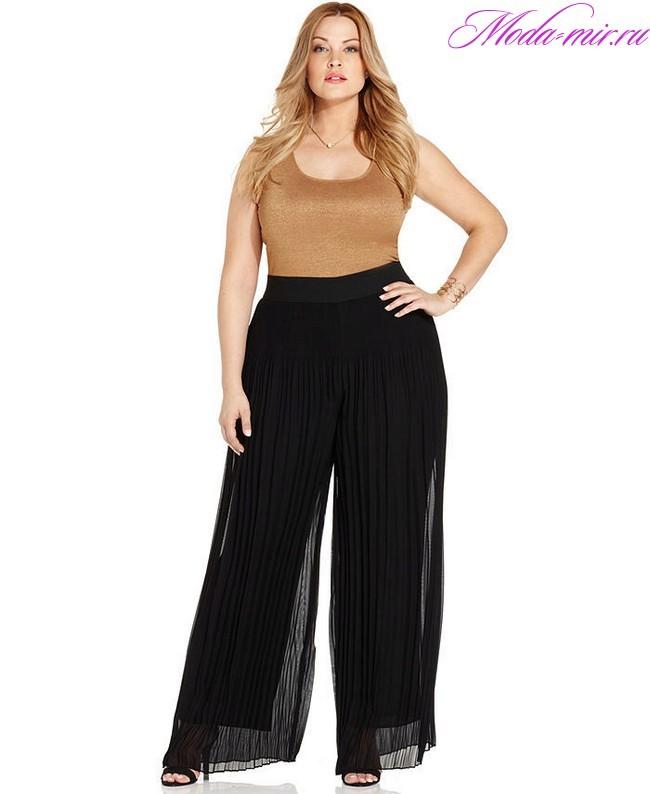 Мода осень 2018 одежда фото женская для полных