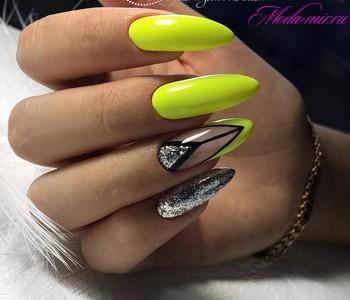 Маникюр на длинные ногти фото дизайн 2019 гель лак