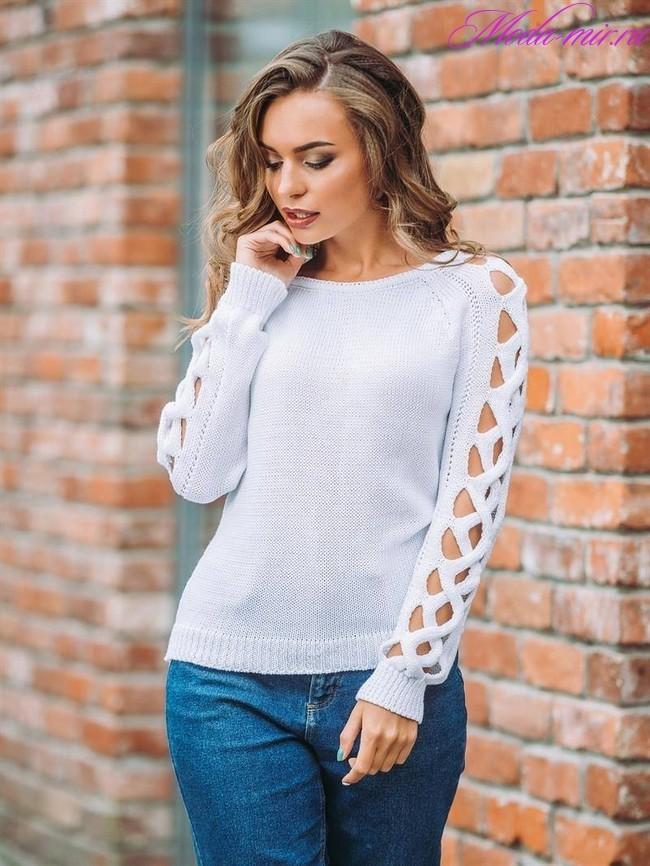 Модные свитера весна 2019 женские фото