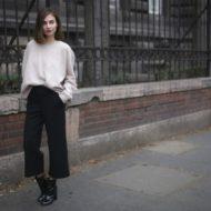 Юбка-брюки: с чем носить?