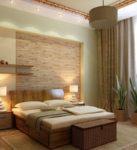Спальни в 3 модных стилях: романтические гламурные натуральные