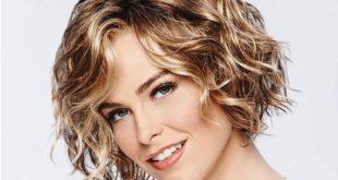 Стрижки на кудрявые волосы средней длины: фото
