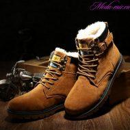 Зимняя обувь мужская для сильных морозов