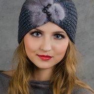 Модные вязаные шапки осень зима 2019 2020 фото для женщин 50 лет