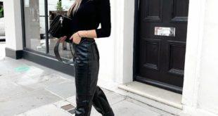 Образ с кожаными штанами