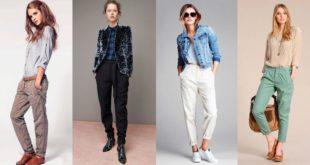 Виды брюк женских: фото с названиями
