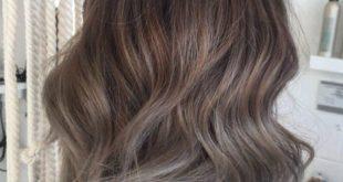 Пепельно коричневый цвет волос: фото, кому подойдет